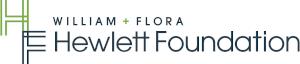 The William and Flora Hewlett Foundation logo